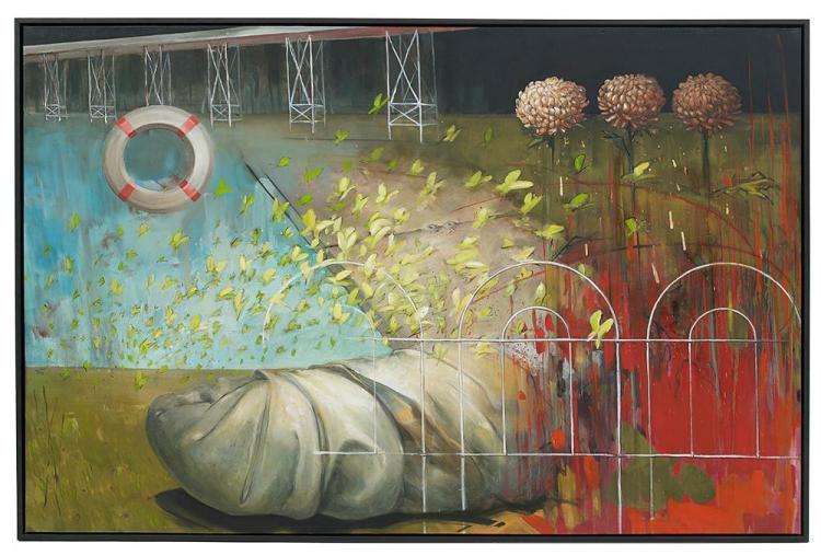Sandy Chism, (American/Louisiana, 1957-2013),
