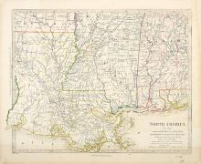 Four Important Maps of Louisiana and the American South, 1760-1860