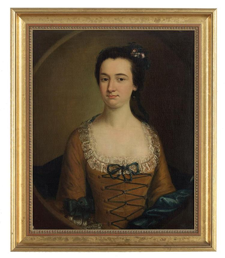Attributed to Joseph Blackburn, (British/American, 1730-after 1777, active New England ca. 1755-1764),