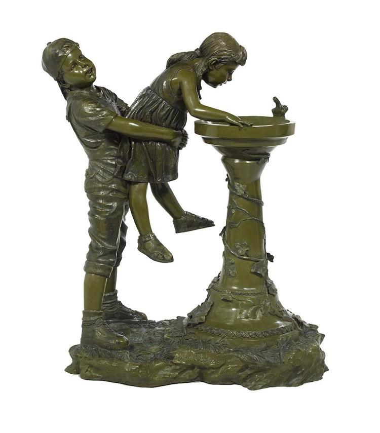 Bronze Figural Fountain