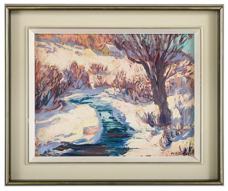 Maurice Lebel, (Canadian, 1898-1963),