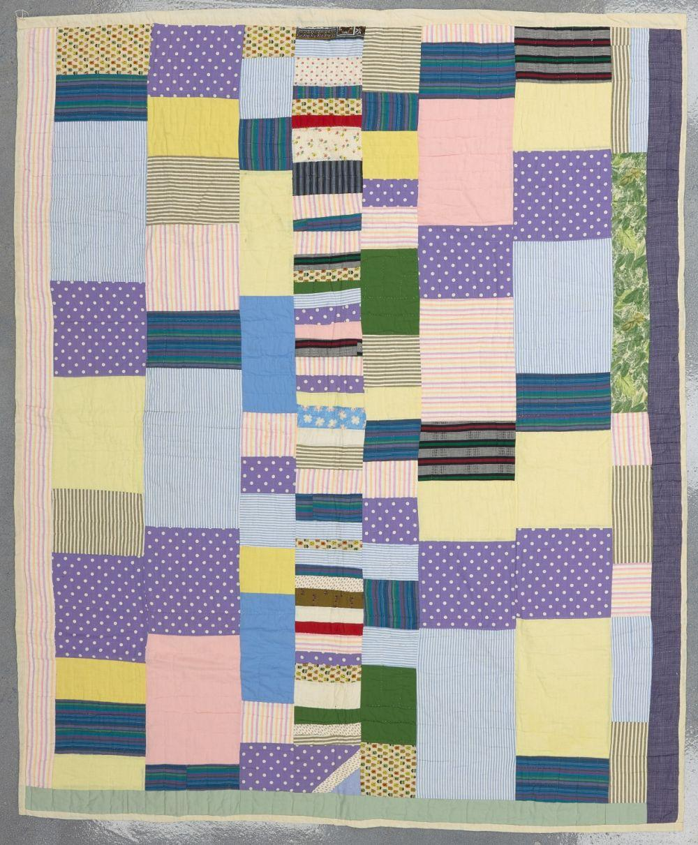 Abstract Modernist Vintage Quilt