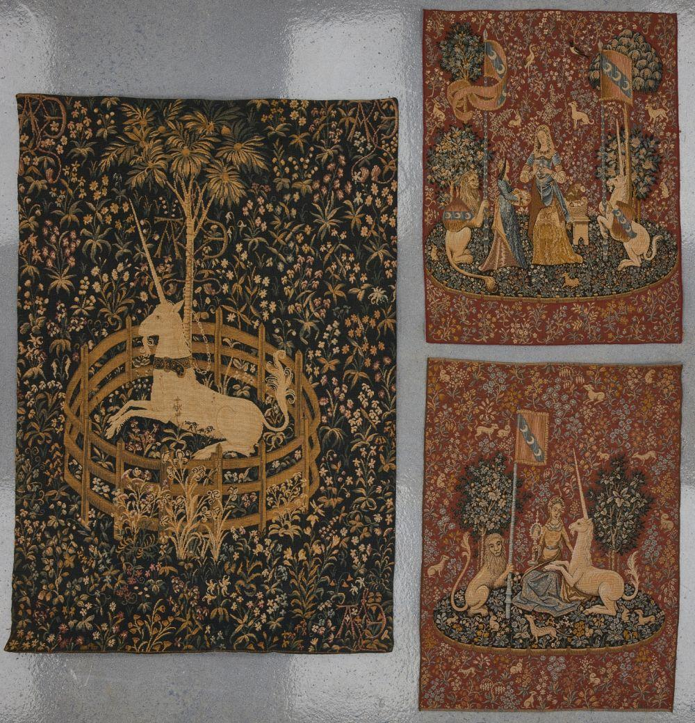 Lot of Five tapestries