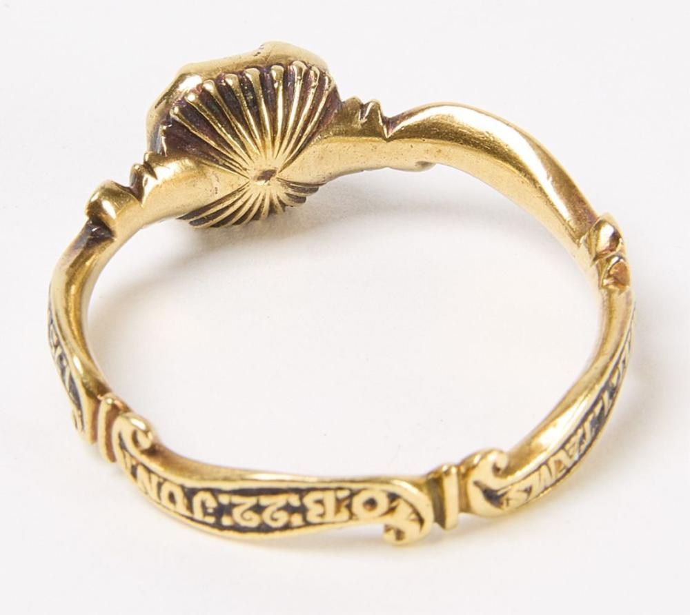 Wm Tams Mourning Ring 1775