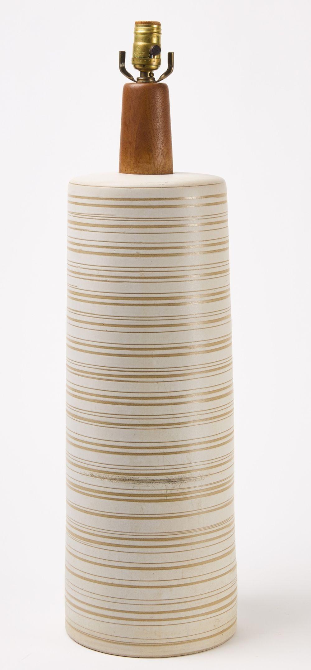 Large MCM Martz Ceramic Lamp