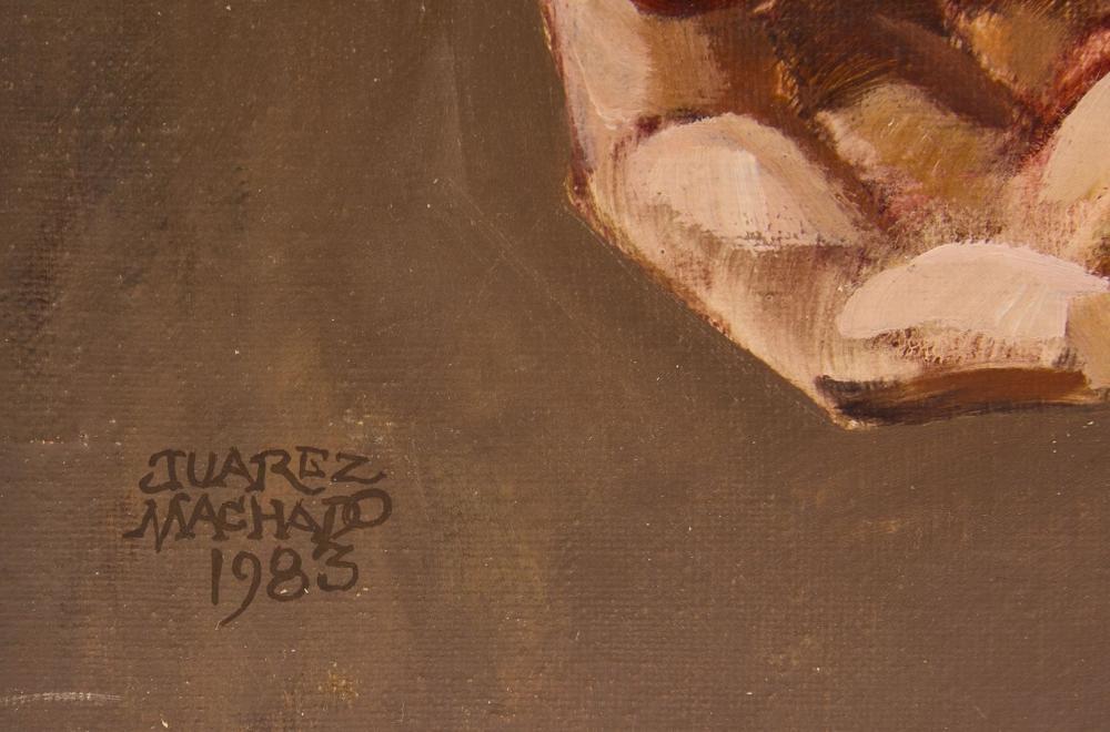 Juarez Machado - oil on canvas