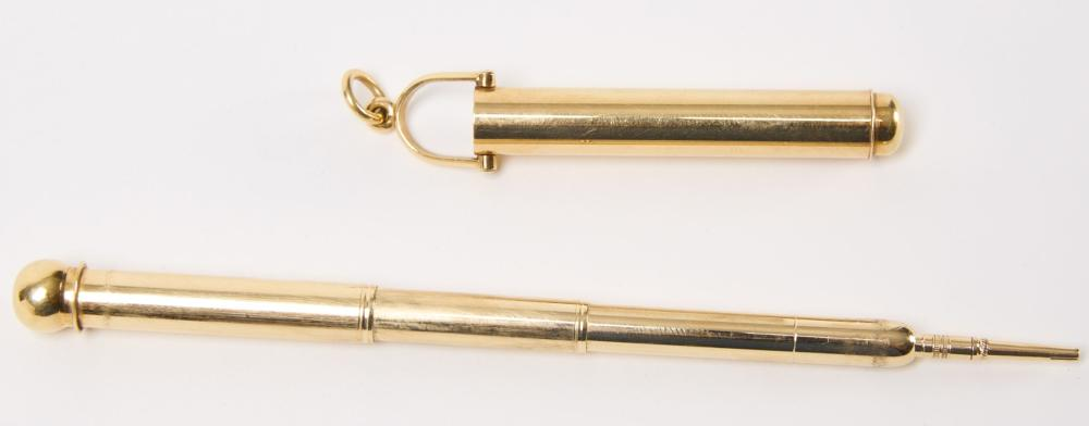 14k Foster and Co Pencil