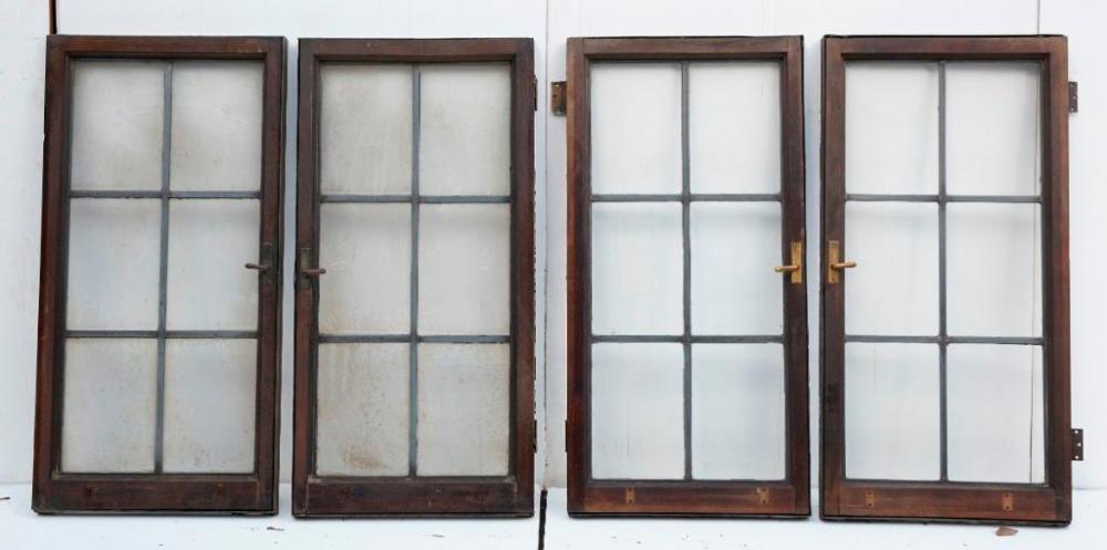 Brewster Mansion-20 Leaded Glass Casement Windows