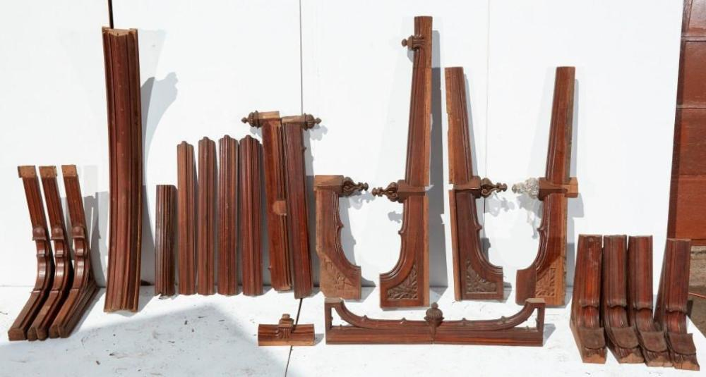 Brewster Mansion-Wooden Ceiling Architectural Elements