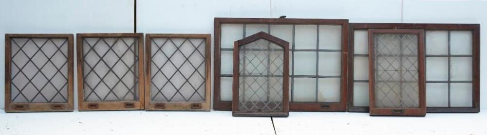 Brewster Mansion-7 Leaded glass windows