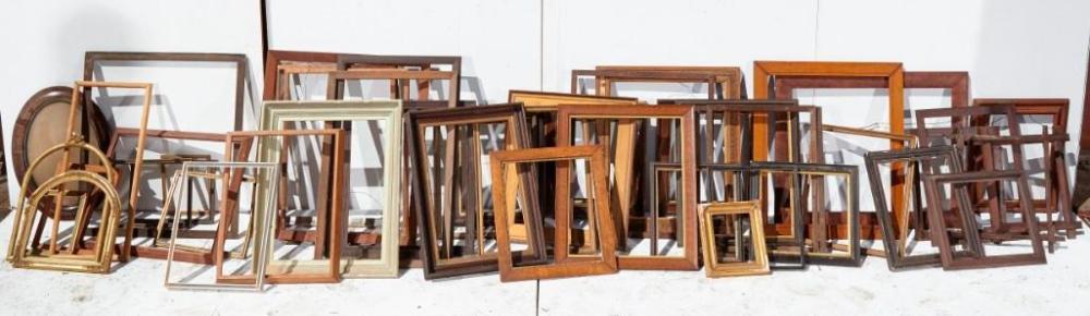 Brewster Mansion-Large Lot of Painting Frames