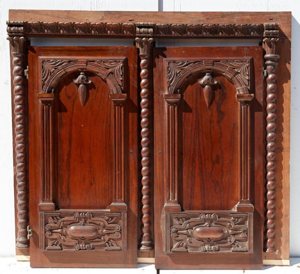 Brewster Mansion- cabinet front with 2 doors