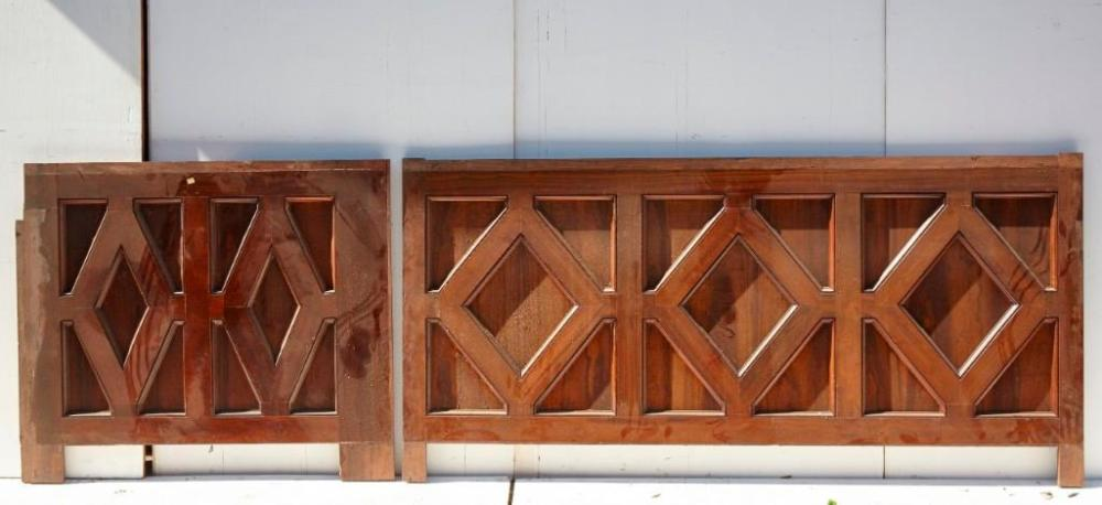 Brewster Mansion-Lot of 2 Architectural Panels