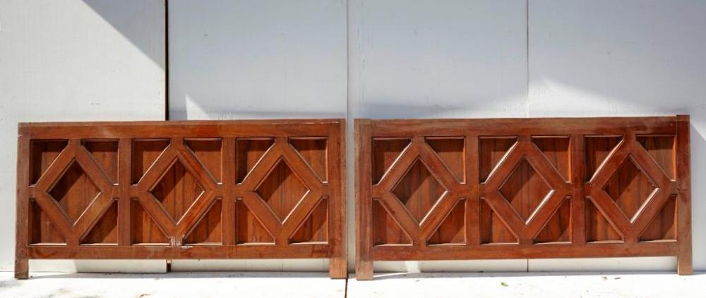 Brewster Mansion-Pair of Architectural Panels