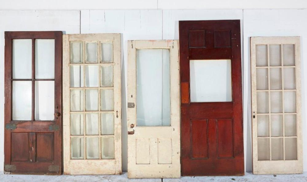 Brewster Mansion-Lot of 9 Doors