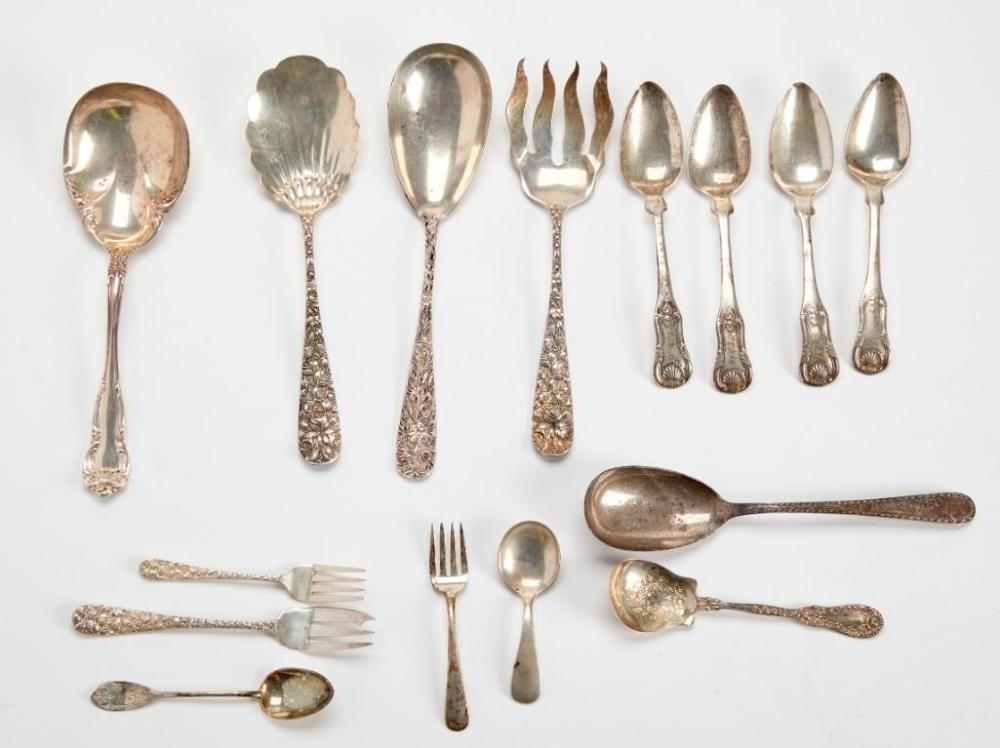 Sterling Silver Mixed Lot of Flatware