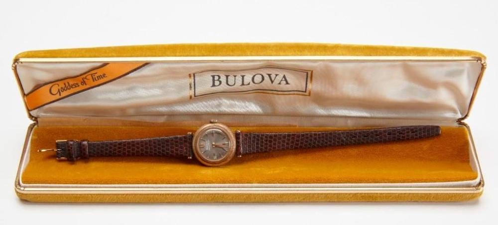 Bulova Accutron Ladies Watch 14K