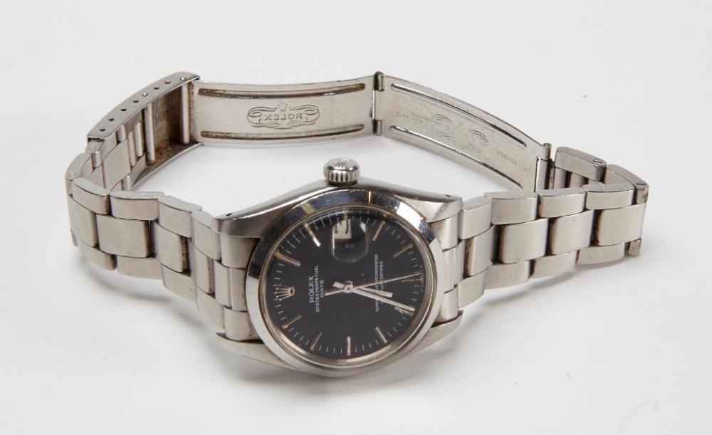 Rolex Watch - Perpetual Oyster Black Face
