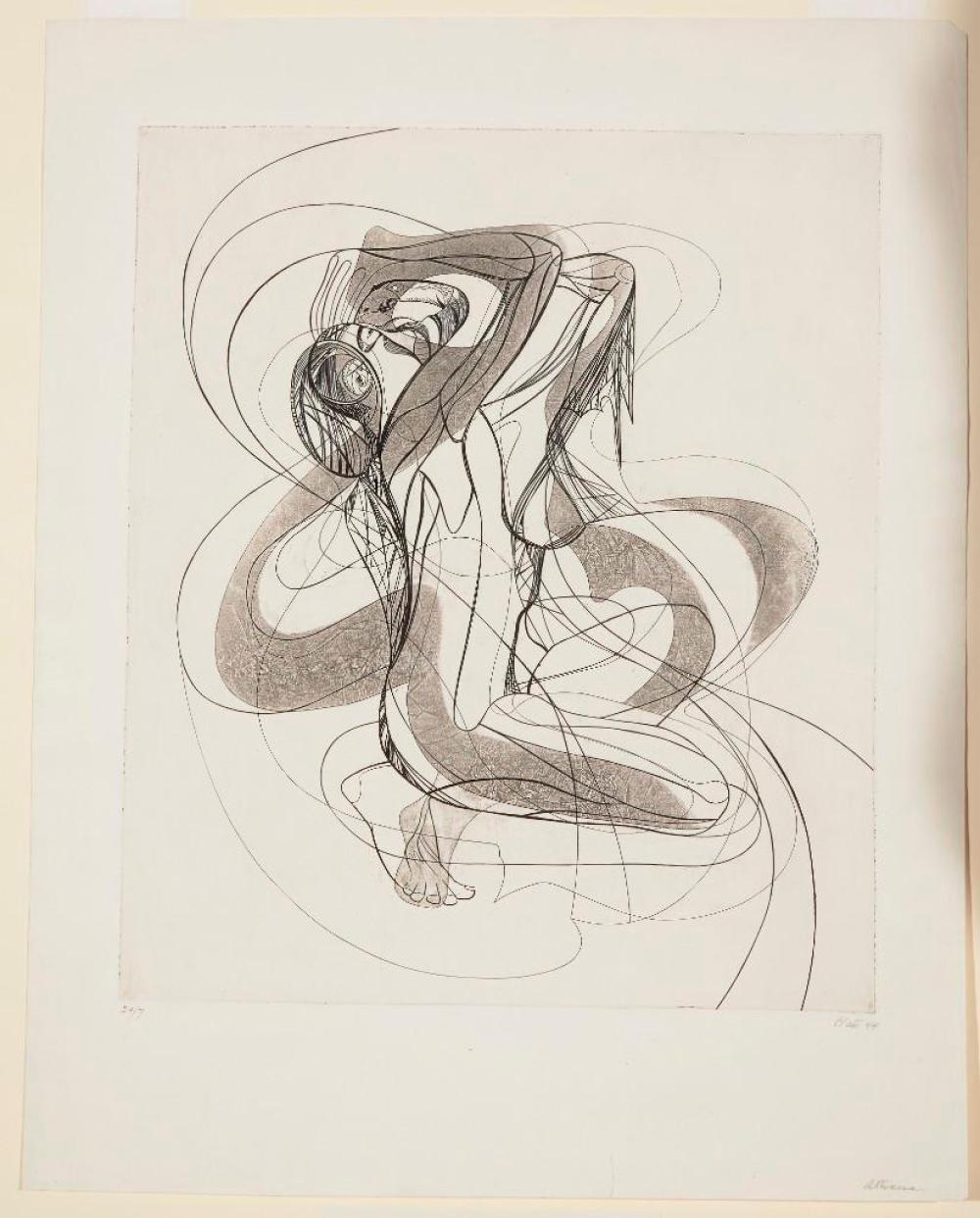 Raphael Soyer and Philip Platt - 2 prints