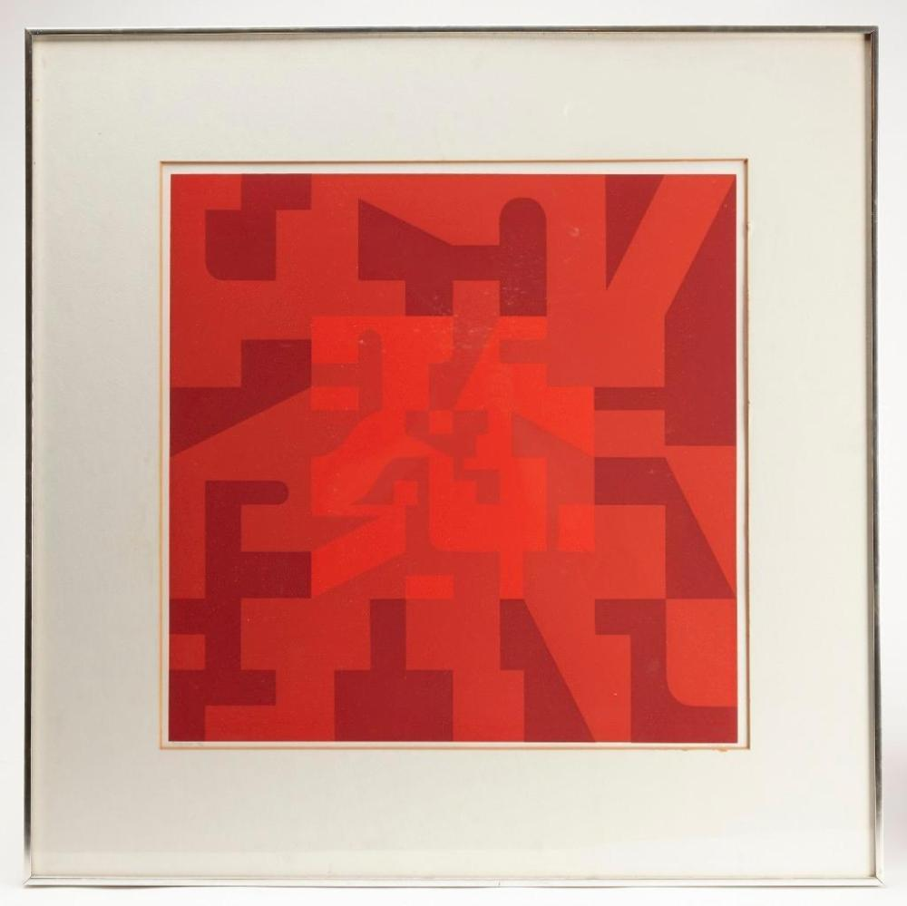 Norman Ives Silk Screen - 1975