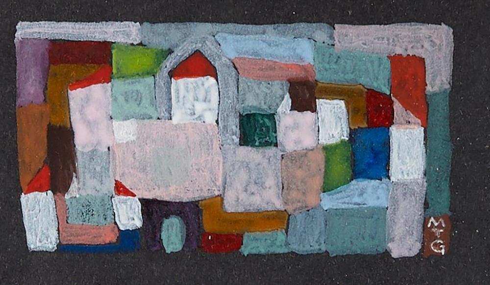 Michael Gloeckner - two gouaches on paper-1963