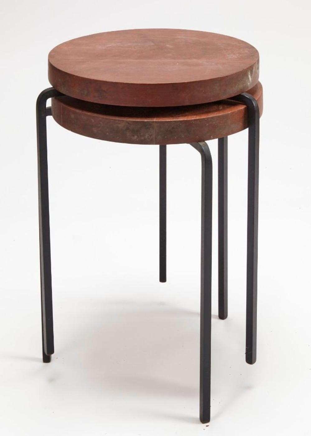 Two 1950's Stacking Tables - Stambaugh Associates