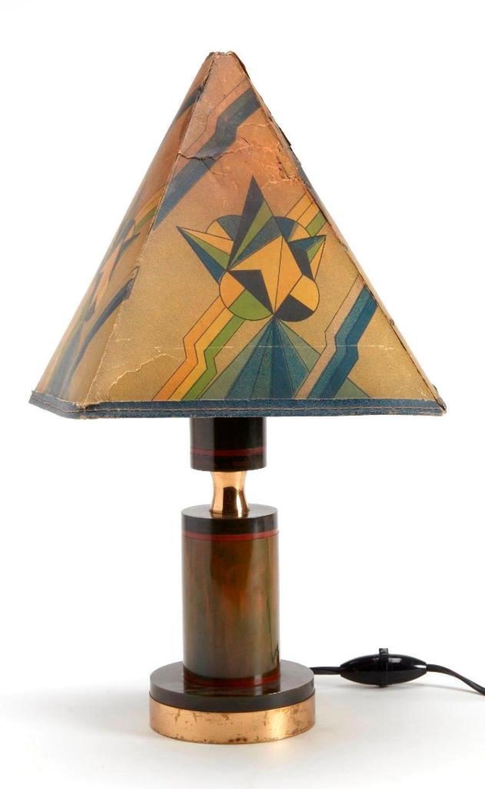 Art Deco Bakelite Lamp