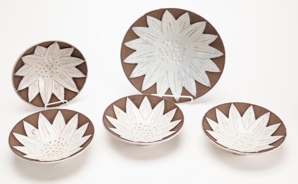 Upsala Ekeby Ceramic bowl set