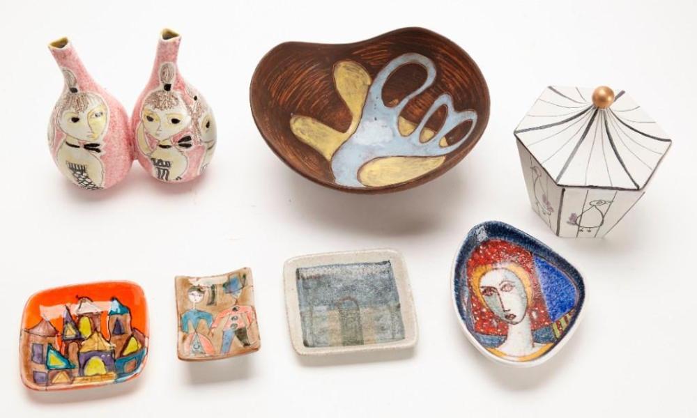 Mid Century Ceramic Lot - Gambone - Raymor