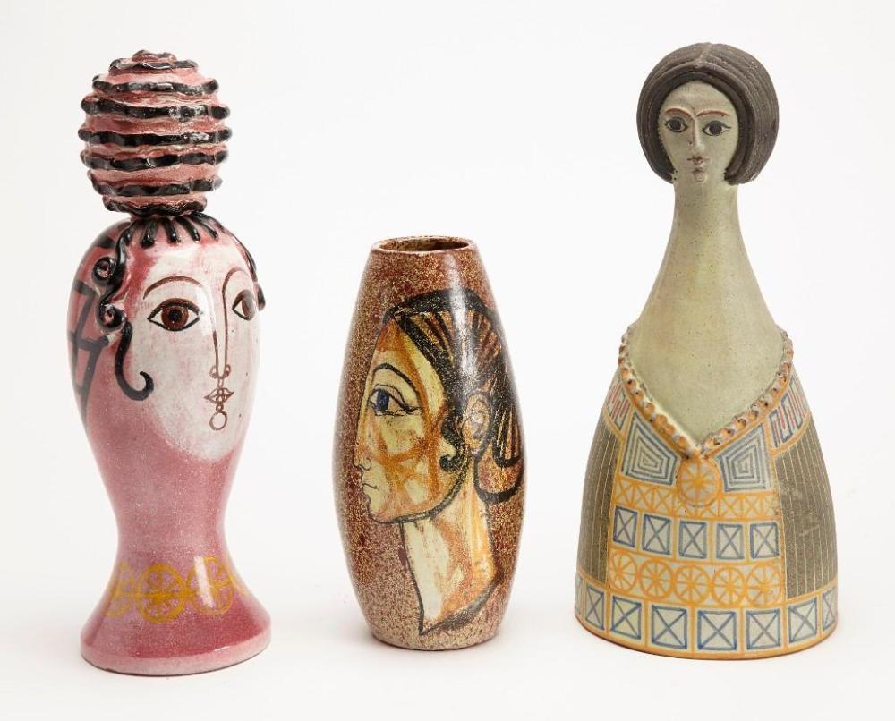 Alfaraz Ceramics - three large pieces