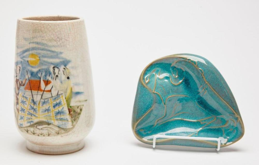 Stonelain Pottery- 2 artist signed works