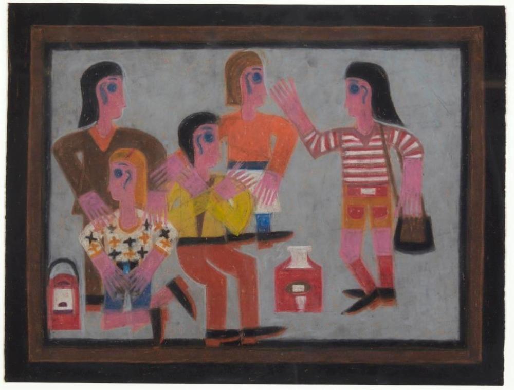 Eddie Arning (1898-1993) Work on Paper