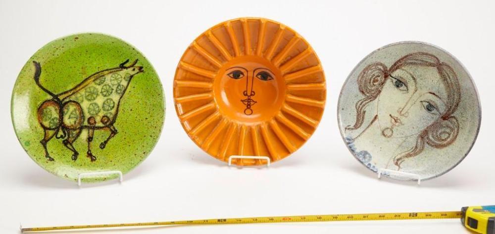 Alfaraz Ceramic Plate Lot