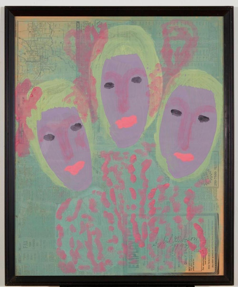 Sybil Gibson(1908-1995) - 2  works on paper