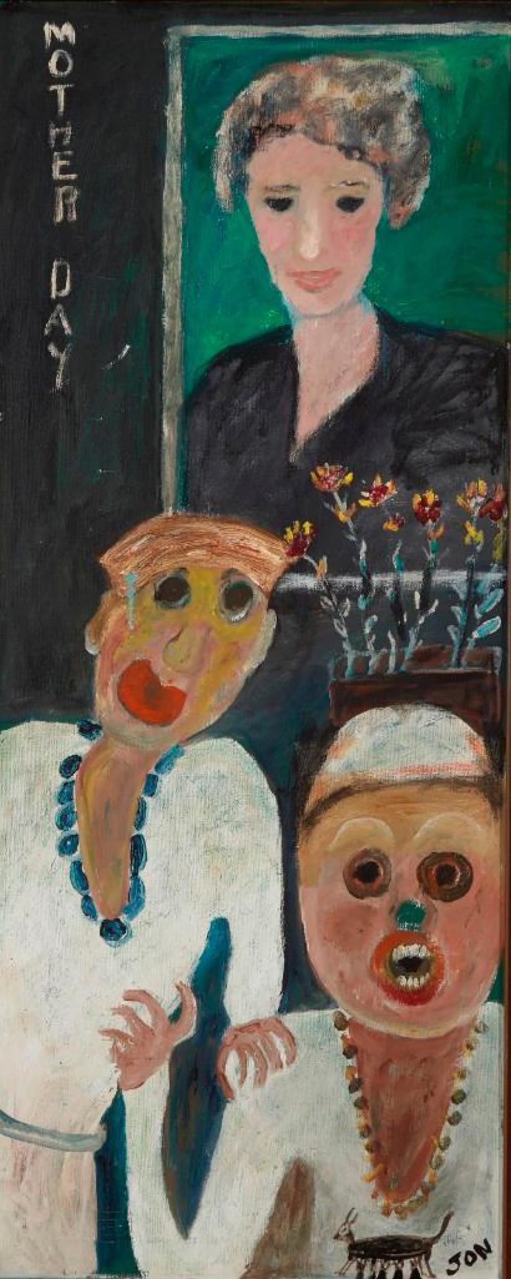 Jon Serl- oil on canvas