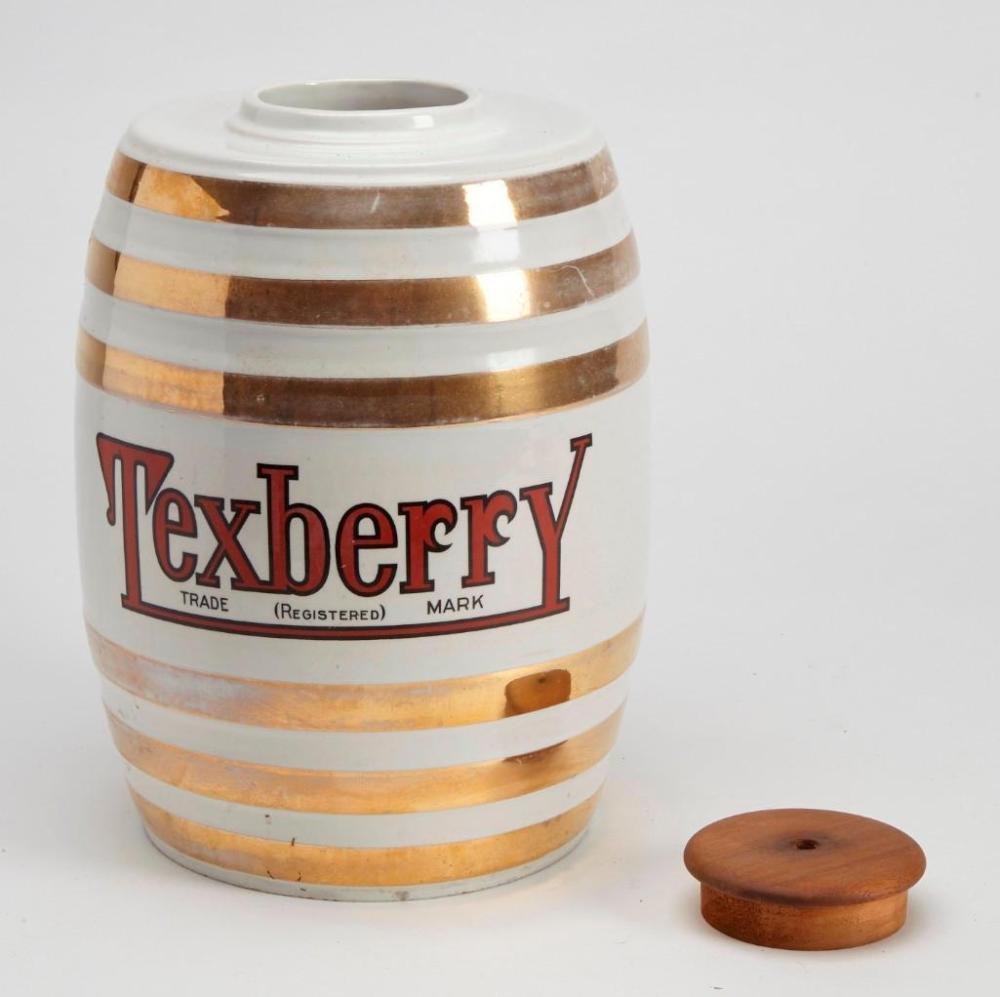 Texberry Porcelain Syrup Dispenser