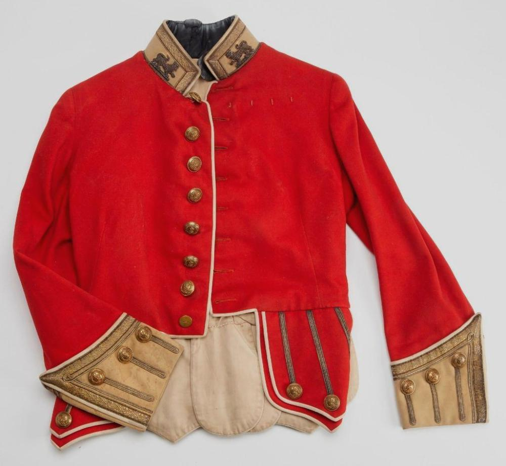19th C. British Officer's Red Jacket