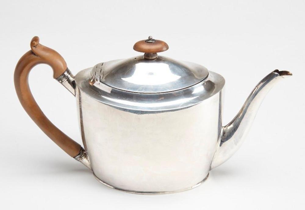 Silver Tea Pot - J Emes London
