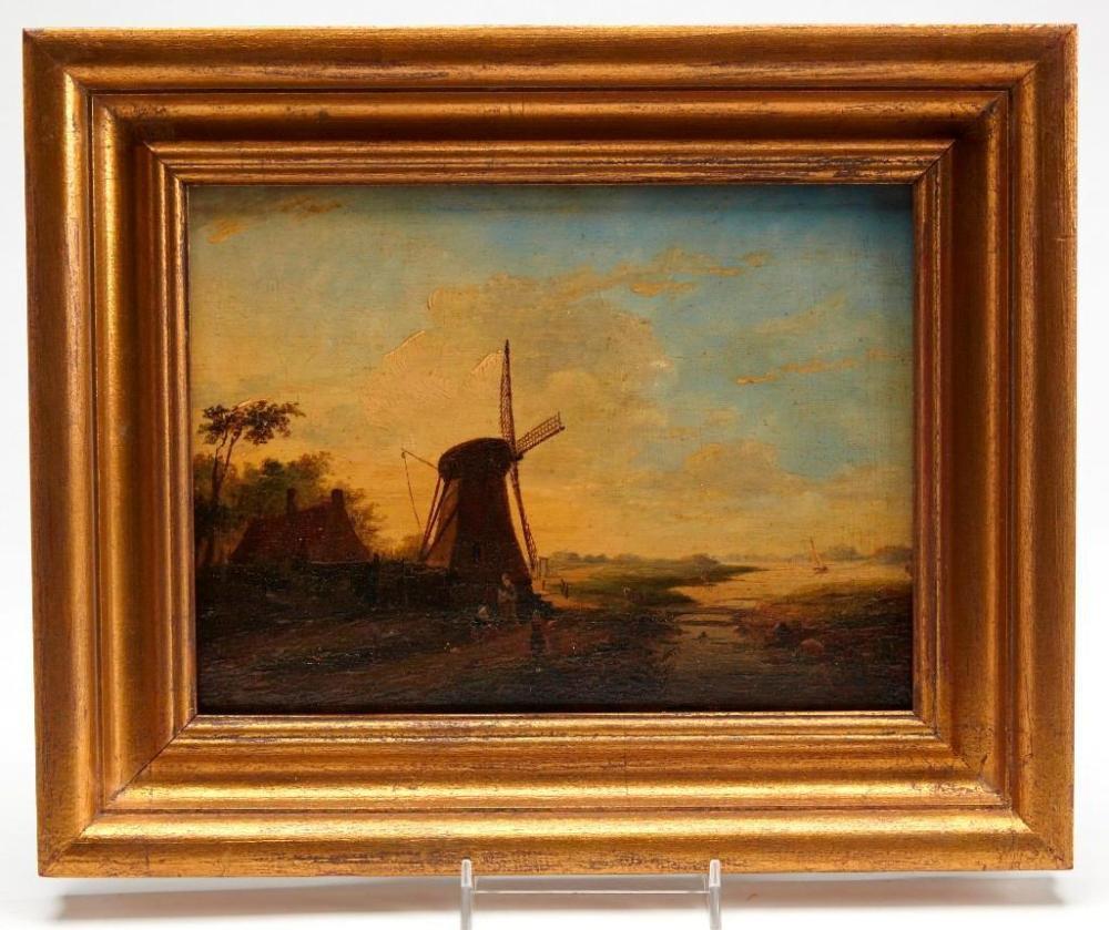Christoffel Albertus Vos (1813-1877) - oil on panel