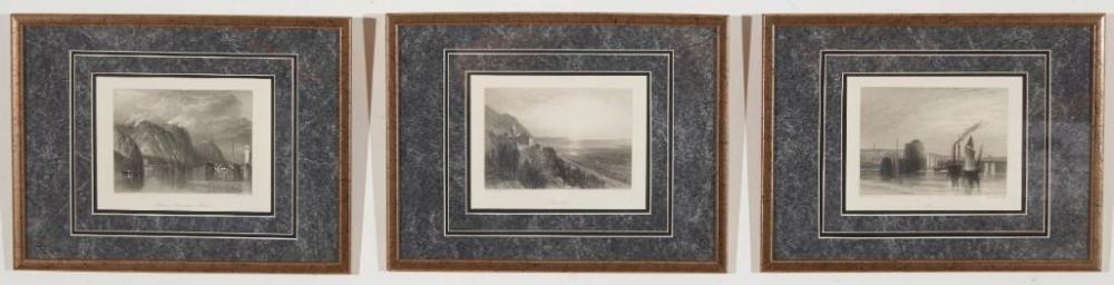 Eleven - 1848 JMW Turner Etchings