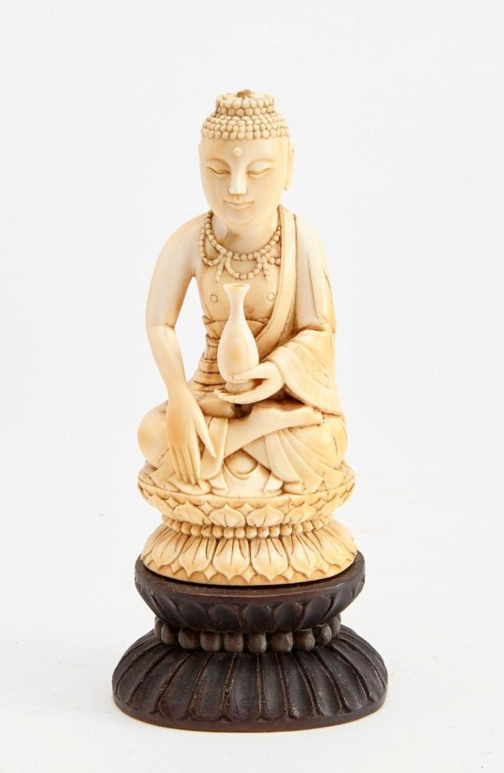 Fine Antique Carved Chinese Buddah