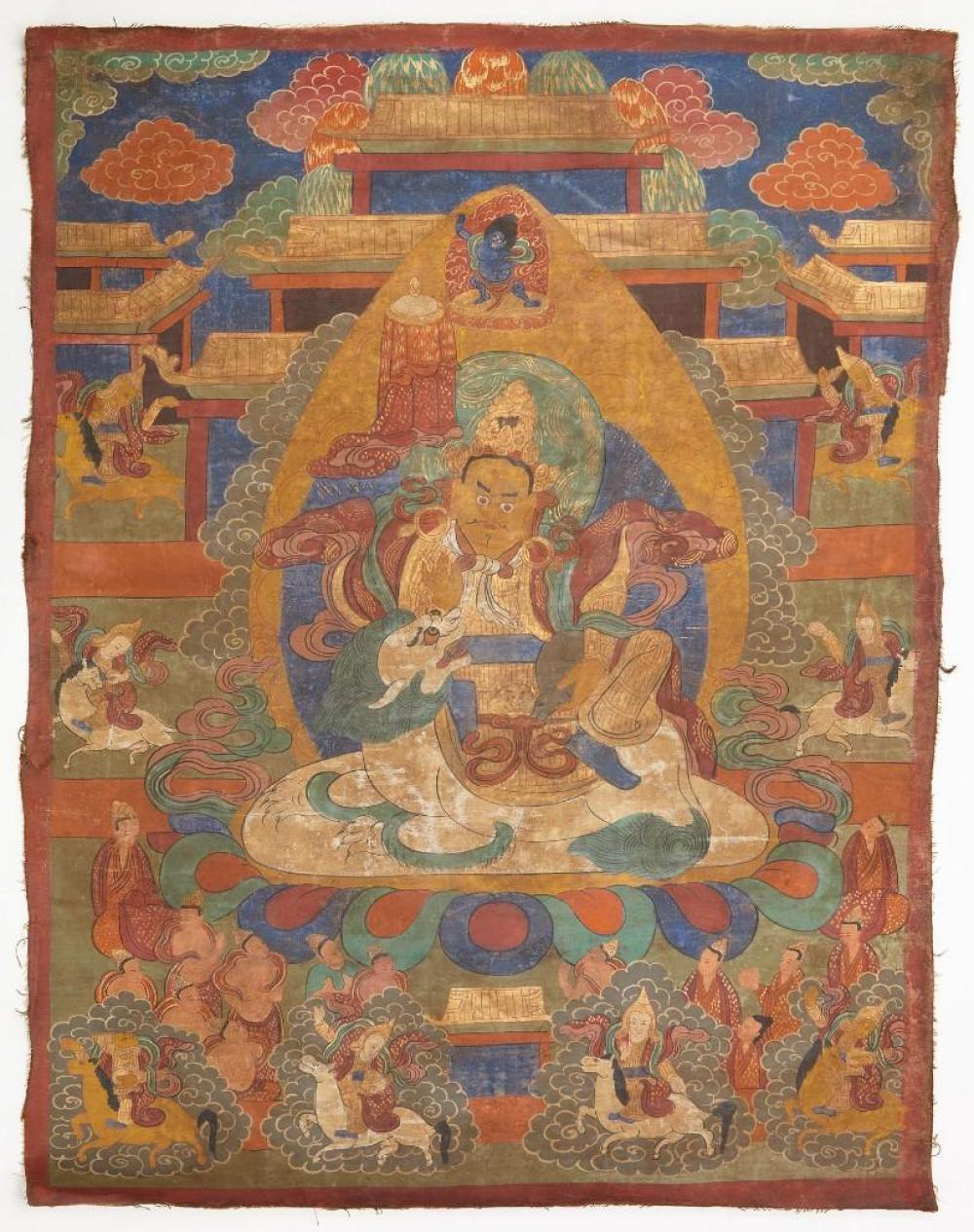 Fine Early Tibetan Tangka Painting
