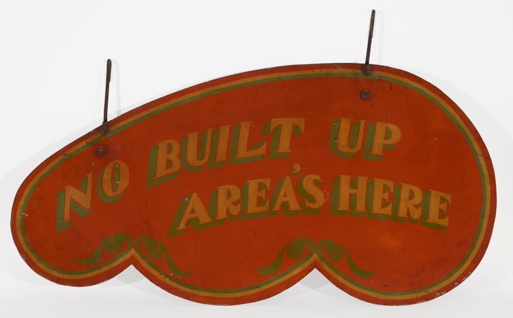 Carnival Trade Sign with Original Paint