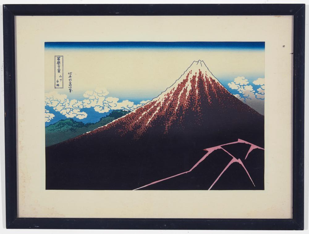 Hokusai - Japanese Print