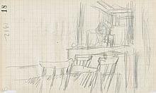 Pierre Bonnard, Trees in a Park (Arbres dans un parc (Verso Study of an Interior))