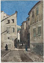 Henri Joseph Harpignies, La Rue, Villefranche