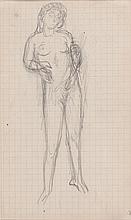 Pierre Bonnard, Nu debout (Standing Nude)