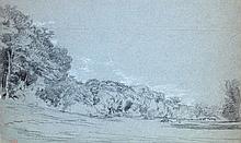 Paul Huet, Vaches en lisière de foret