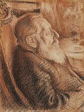 Georges Lemmen, Portrait du Père de Lemmen