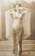 J... A... (20th Century) French. Study of a Lady in Costume, Photograph, numbered 'Serie 037, Unframed, 18